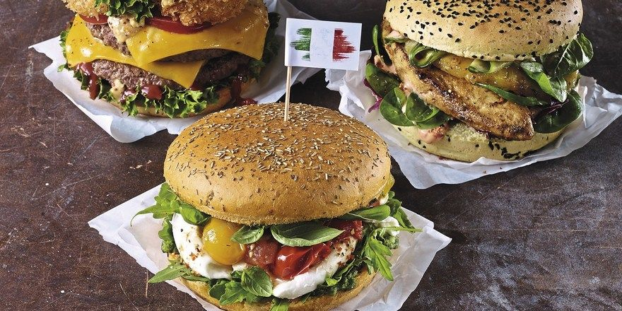 Burger: International ist Trumpf