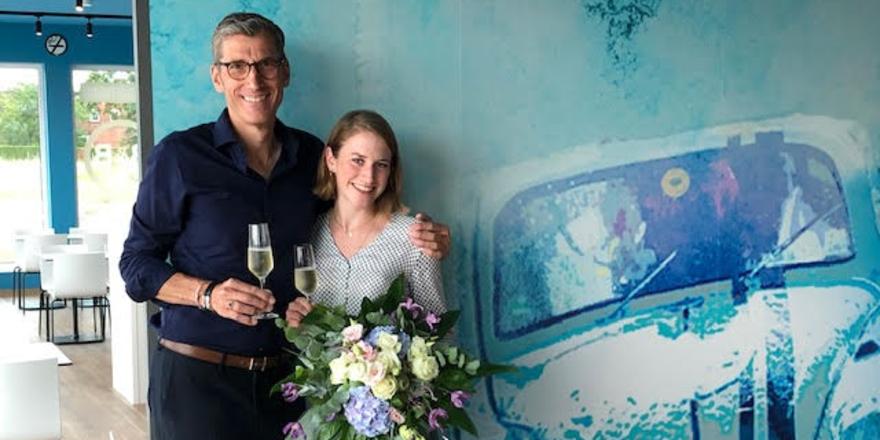 Frisch am Start: Friedrich und Patrizia Niemann haben das Haus in der Autostadt eröffnet