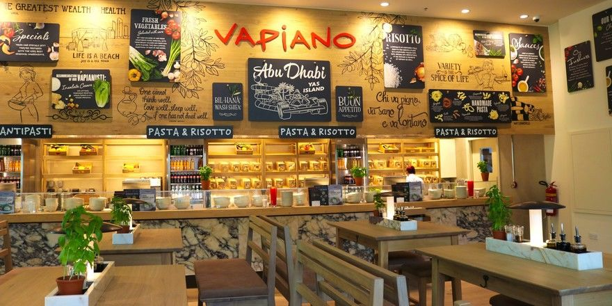 Neu in Abu Dhabi: Vapiano in der Yas Mall