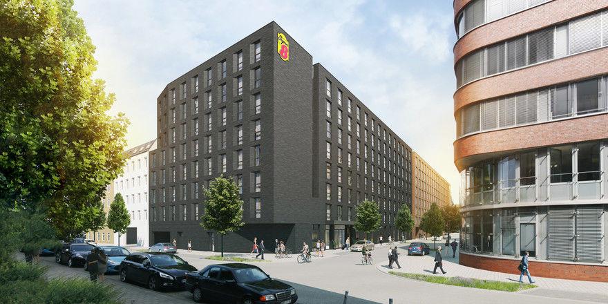 Zurzeit in Planung: Das Super 8 by Wyndham Hamburg City