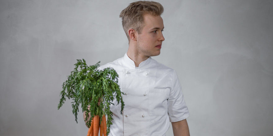 Er widmet sich seltenen Kohlgewächsen: Jungkoch Matthias Birnbach