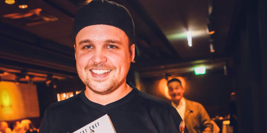 Mit eigenem Kochbuch: Küchenchef Jonas Straube
