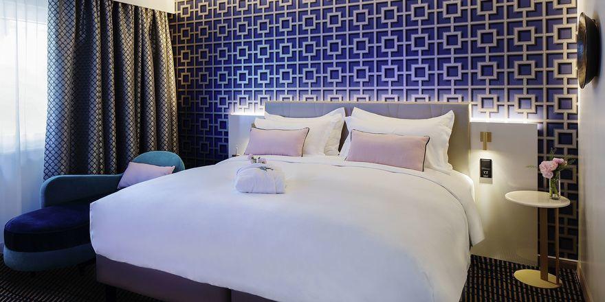 Stylish: Zimmer im Grand Hotel Bregenz MGallery
