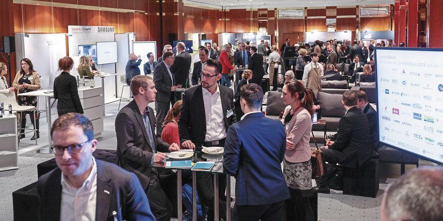 Infos und Networking: Die HotelExpo macht's möglich