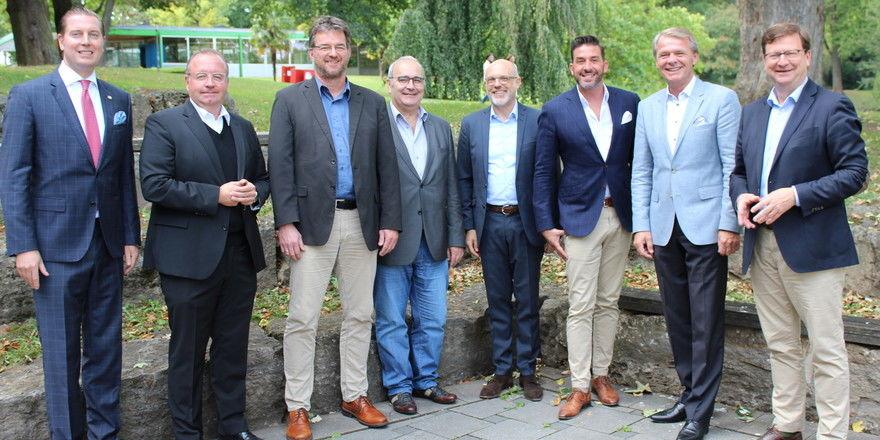 Diskutierten: (von links) Hannes Bareiss, Christian Barth, Olaf Schlieper, Andreas Matzarakis, Michael Moritz, Jens Sroka und Thomas Edelkamp