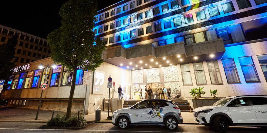 So sieht es aus: Das Ninetynine Hotel Wuppertal