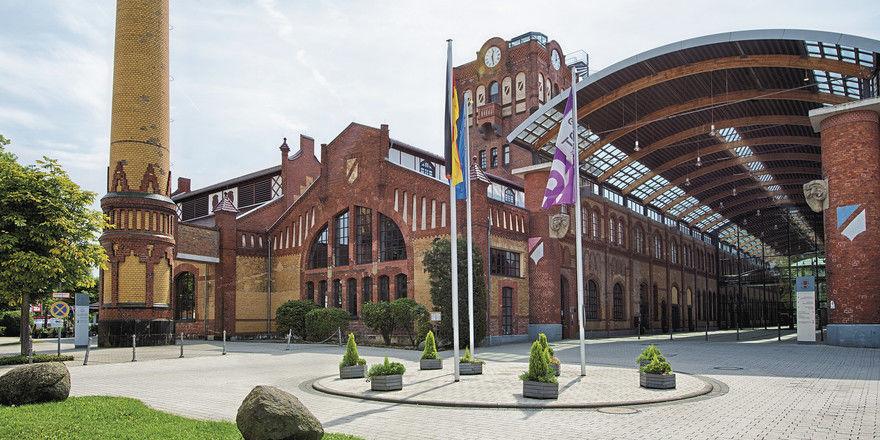 Imposantes Gebäude: Das Achat Plaza Offenbach befindet sich auf einem alten Schlachthofareal