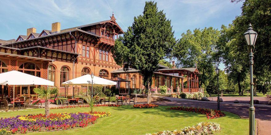 Im dritten Quartal verkauft: Das Dorint Parkhotel Herrenkrug Magdeburg