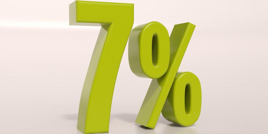 Großes Ziel: 7 Prozent für alle