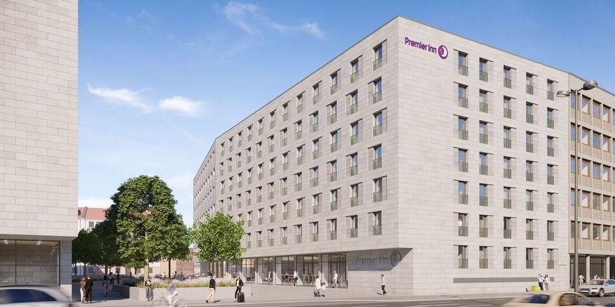 Neues Projekt in Nürnberg: Ein Stadthotel der Marke Premier Inn