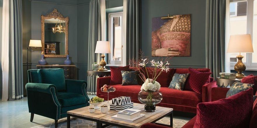 Neuer Luxus in Rom: Eine Suite im Rocco Forte House am Spanischen Platz