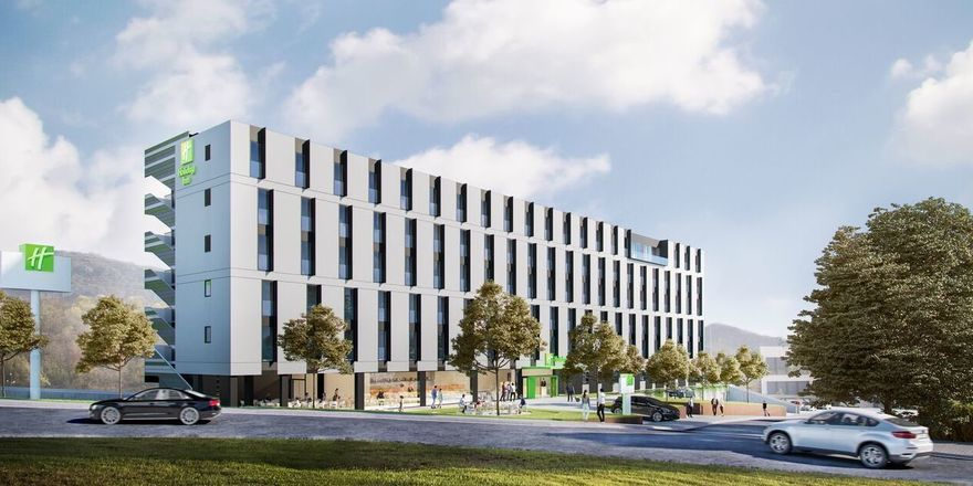 In Planung: Das Holiday Inn Sant Cugat soll 2021 eröffnen
