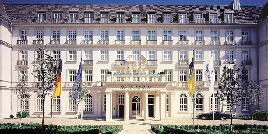 Bald unabhängig: Das Parkhotel Quellenhof in Aachen