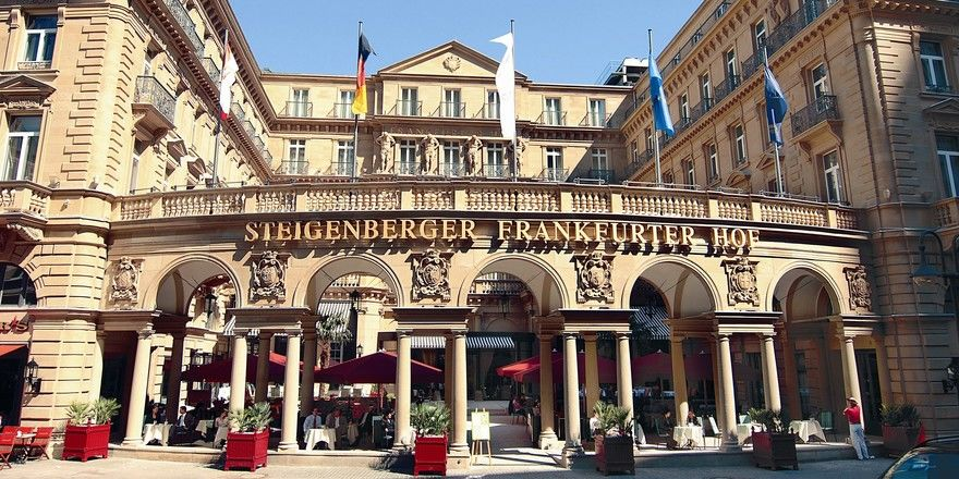 Flaggschiff der Branche: Das Steigenberger Frankfurter Hof in Frankfurt am Main