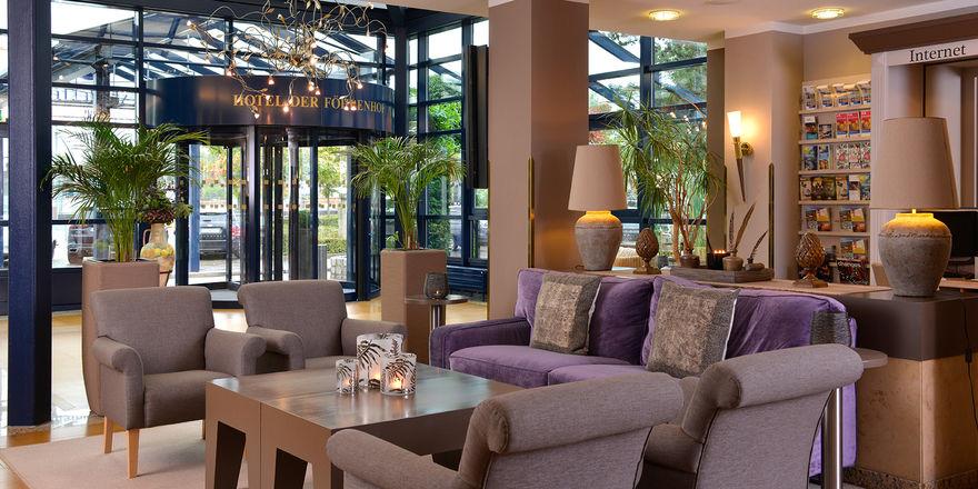 Frisches Design: Die öffentlichen Bereiche des Hotels sind jetzt in Naturtönen gestaltet