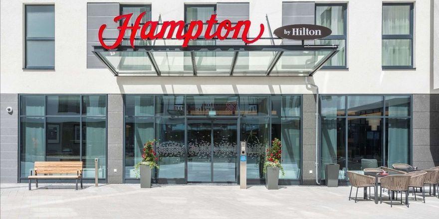 Auf Wachstumskurs: In Europa sind derzeit 43 Hotels der Marke Hampton by Hilton geplant