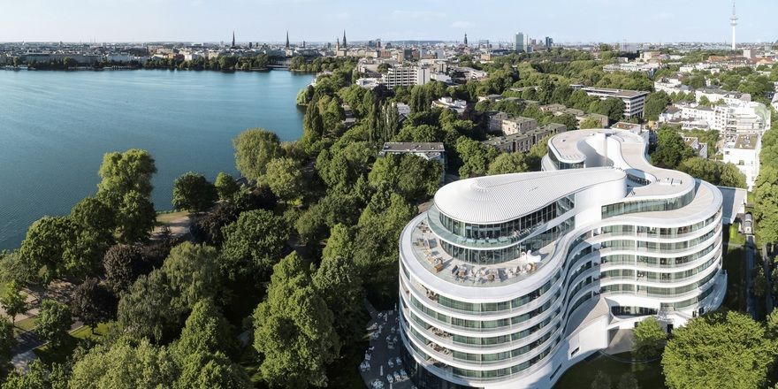 Luxus an der Alster: Das Hamburger Hotel The Fontenay