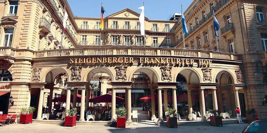 Flaggschiff: Das Steigenberger Hotel Frankfurter Hof ist einer der Vorzeigebetriebe der Marke
