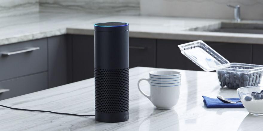 Ständiger Begleiter: Das Alexa-Gerät ist in viele Haushalte eingezogen