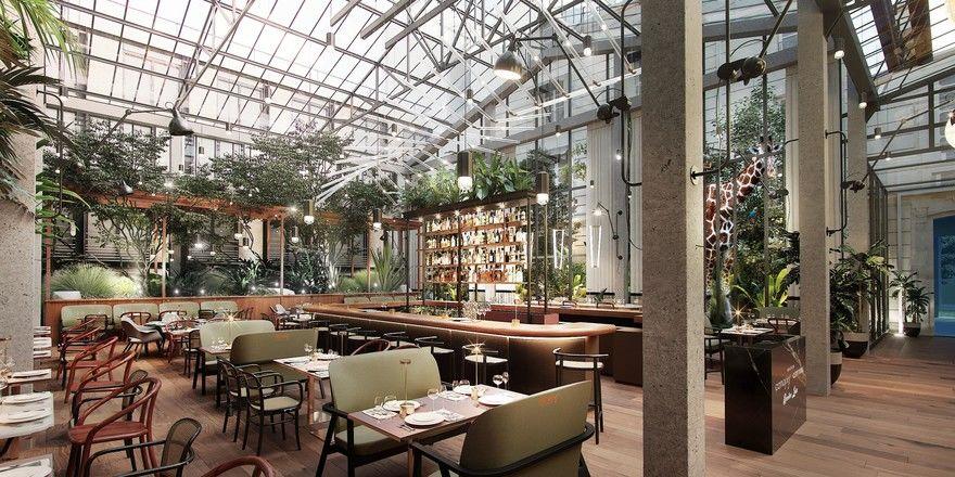 In Planung: Ein Rendering des neuen Canopy by Hilton