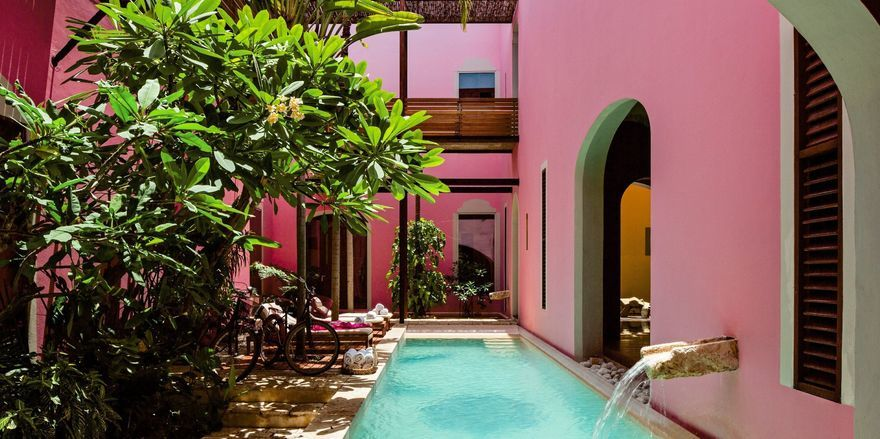 Urlaub in Pink: Das Rosas & Xocolate Boutique Hotel in Mexiko