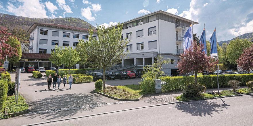Standort Calw: Hier entsteht ein neues Wohnheim für Berufsschüler.
