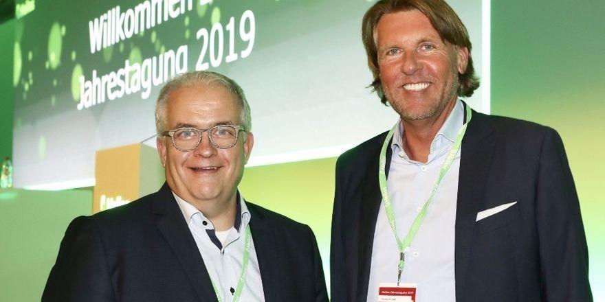 Partner: Franzel Simon (links) von Helios und Berater Carsten K. Rath