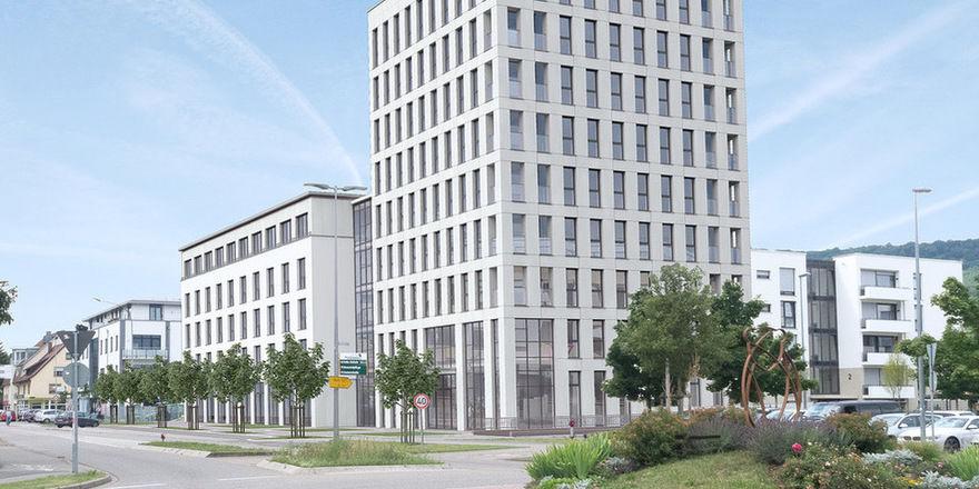 So soll es aussehen: Das neue Libertas-Hotel bei Freiburg