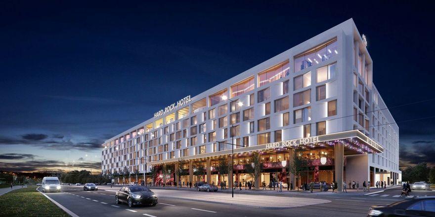 Neues Projekt für Prag: So soll das künftige Hard Rock Hotel dort aussehen