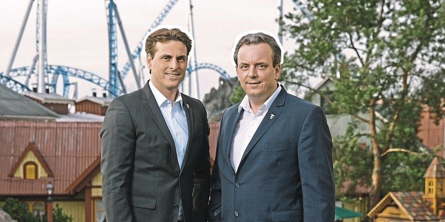 Geschäftsführende Gesellschafter Europa-Park: Thomas (links) und Michael Mack