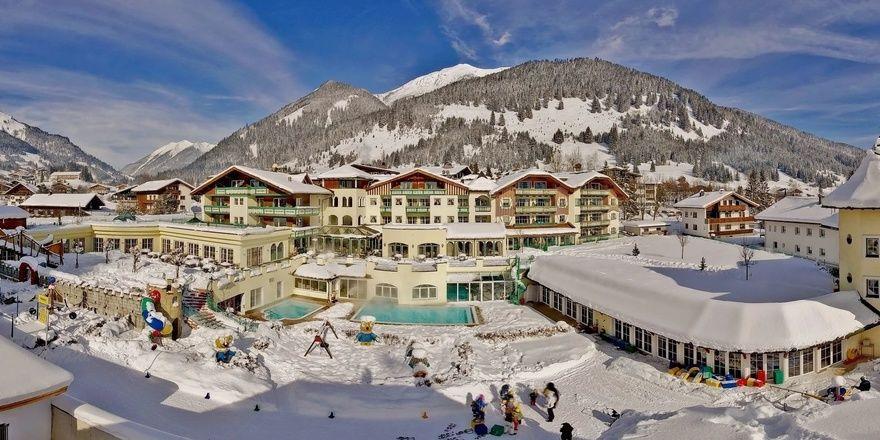 Stammhaus der Gruppe: Das Hotel Alpenrose in Lermoos