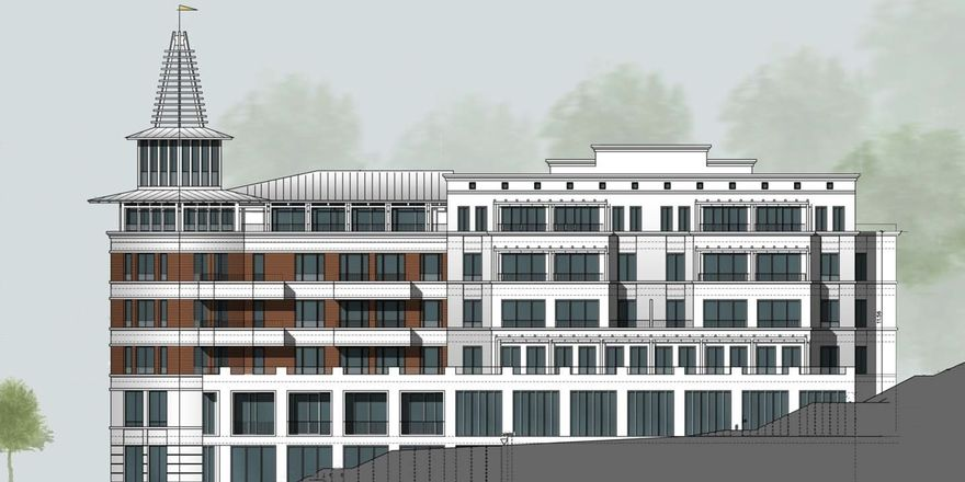So soll's ausssehen: Ein Entwurf des künftigen Hotels Kurhaus Sellin