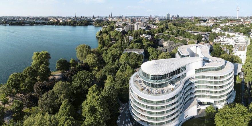 Will ein guter Arbeitgeber sein: The Fontenay in Hamburg