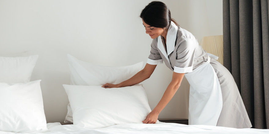 Perfektes Zimmer: Manche Hotels fragen den Gast, ob das täglich sein muss