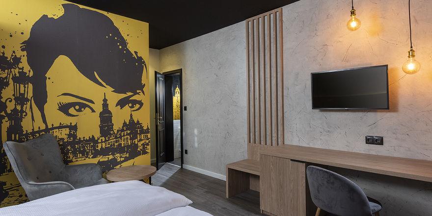 Zimmer im ibis Styles Dresden Neustadt