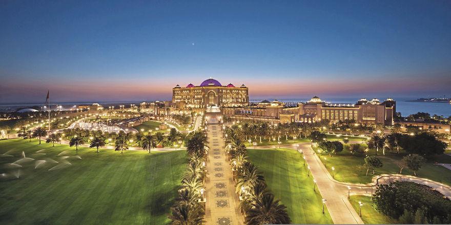 Eine Perle weniger für Kempinski: Das pompöse Emirates Palace in Abu Dhabi geht zu Mandarin Oriental