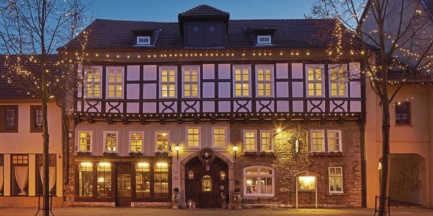Erstrahlt in neuem Glanz: Das Brauhaus zum Löwen, das zur Göbel-Hotelgruppe gehört