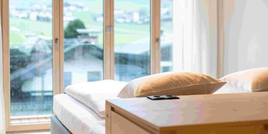Toller Ausblick: Zimmerbeispiel im Mari Pop Hotel