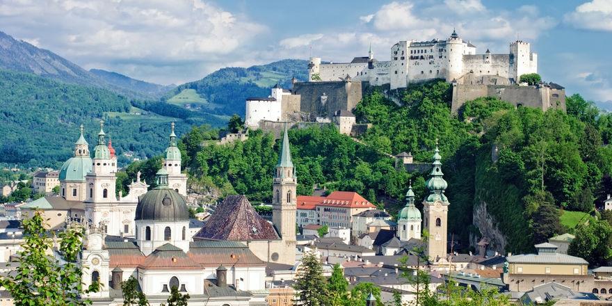 Musik- und Kulturstadt: Die Festspiele ziehen im Sommer ein internationales Publikum nach Salzburg