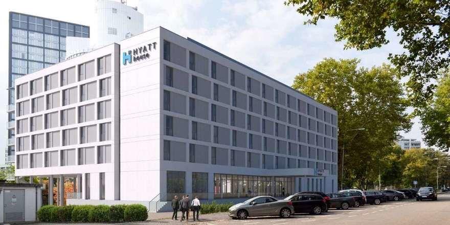 Öffnet Mitte Februar: Das neue Hyatt House in Frankfurt