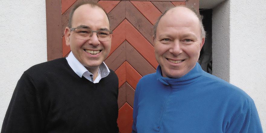 Haben die Zeichen der Zeit erkannt: Andreas (links) und Michael Hintz.