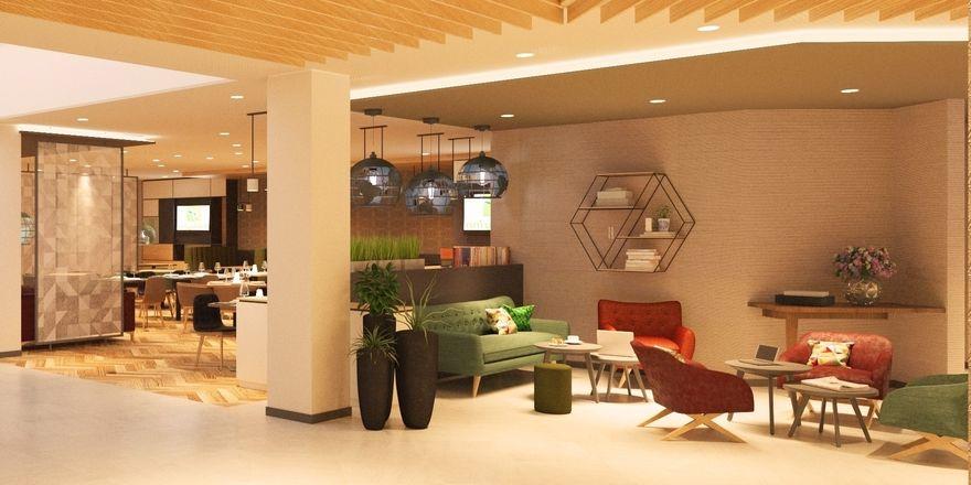 Netzwerken und Live-Cooking: Im neuen Holiday Inn richten sich die öffentlichen Bereiche nach aktuellen Trends
