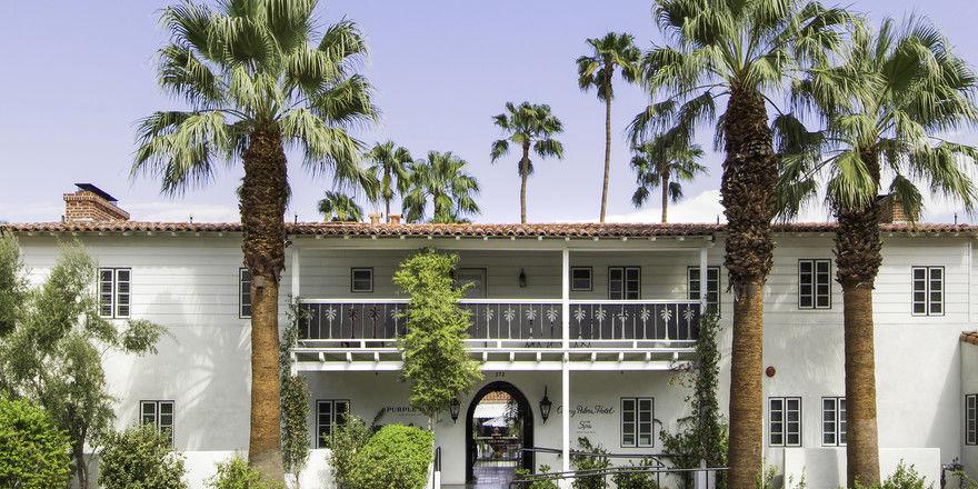 Retro: Im Colony Palms Hotel lebt die Vergangenheit auf.
