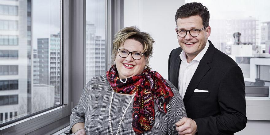 Erfolgreiches Geschäftsjahr: Carmen Dücker und Marcus Smola, Geschäftsführer der BWH Hotel Group Central Europe GmbH, freuen sich