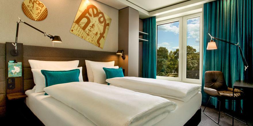 Top-Unterkünfte: Motel One steht gut da, hier ein Zimmer im Haus Warschau-Chopin