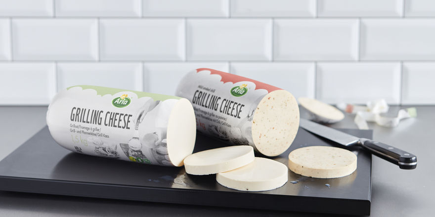 Flexibles Produkt: Der neue Arla Pro Grilling Cheese