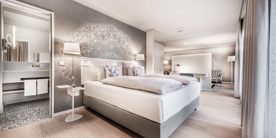 Elegant: Im Rahmen des Umbaus wurden 131 Zimmer und Suiten individuell gestaltet