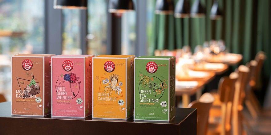 """Neuer Auftritt: So präsentieren sich nun """"Selected""""-Sorten aus dem Hause Teekanne"""