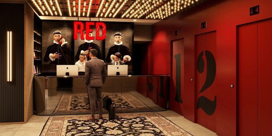 So soll's aussehen: Das Radisson Red in Köln startet in drei Jahren