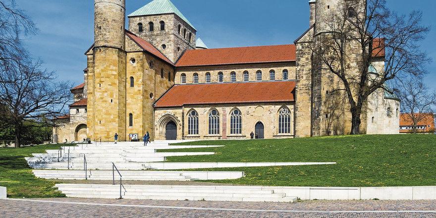 Kulturdenkmal: Kirche St. Michael in Hildesheim.